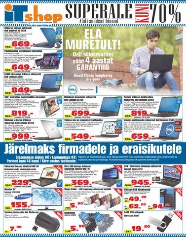 3534baf56a9 ITshop reklaamleht 2016 veebruar märts by ITshop - issuu