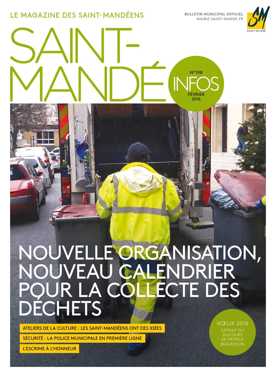 Saint-Mandé Infos 198 by Mairie de Saint-Mandé - issuu 7b559d998ee