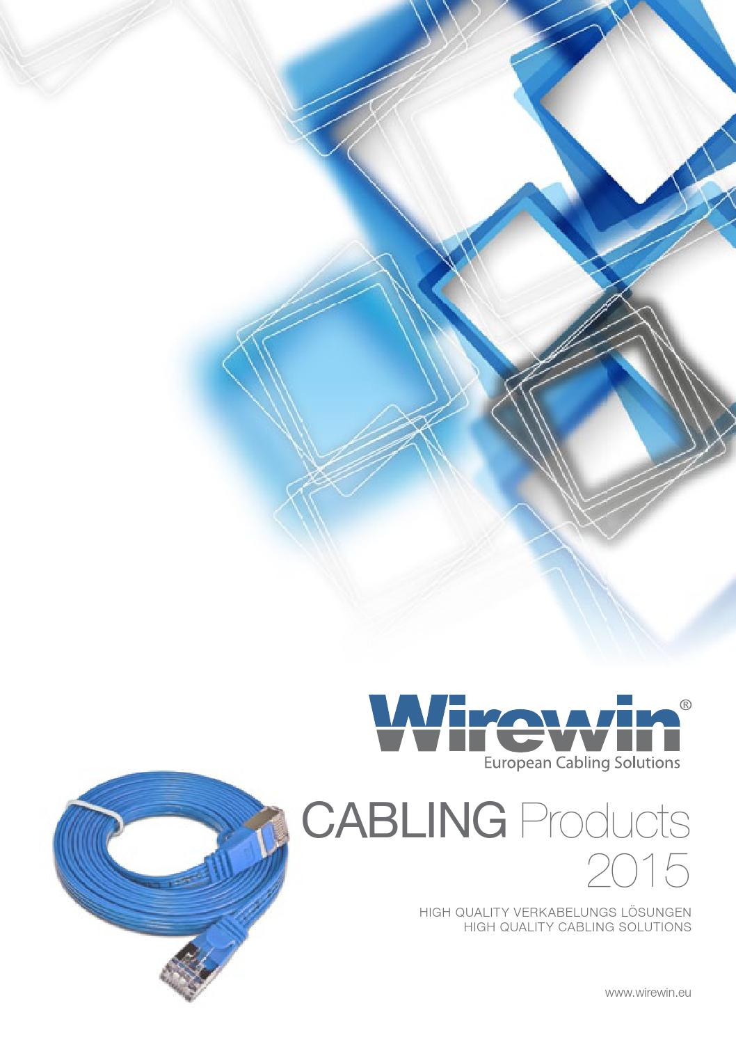 Wirewin European Cabling Solutions by Triotronik GmbH - issuu
