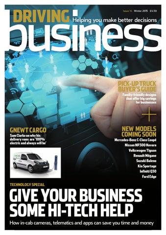 3a01ee7d9d Driving Business - Winter 2015 by Fleet News - issuu