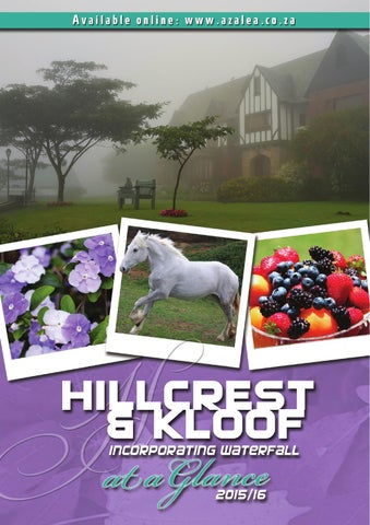 Hillcrest Kloof A Glance 201516 By Lyn G Issuu