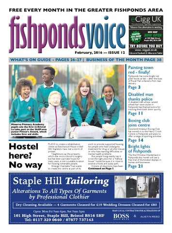 669542beedd Fishponds Voice Newspaper February 2016 by Fishponds Voice - issuu