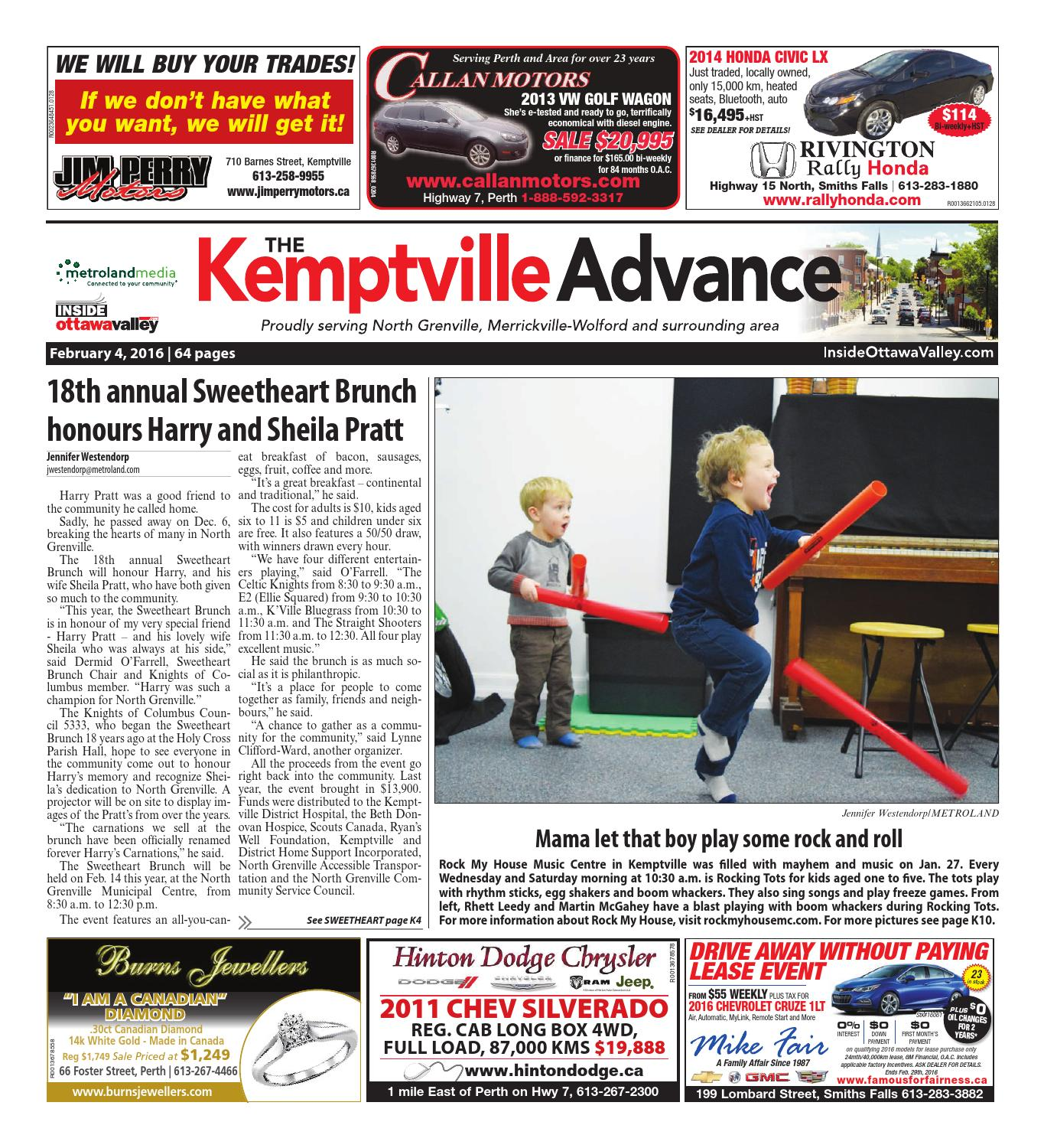 Kemptville020416 By Metroland East Kemptville Advance Issuu High Yield Gold Plated 14k Circuit Boards Scrap Recovery For Sale
