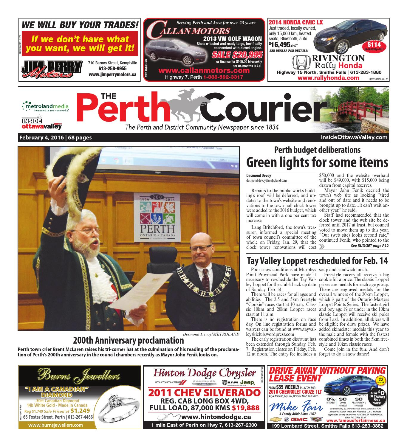 Perth020416 by Metroland East - The Perth Courier - issuu 01737c525fd