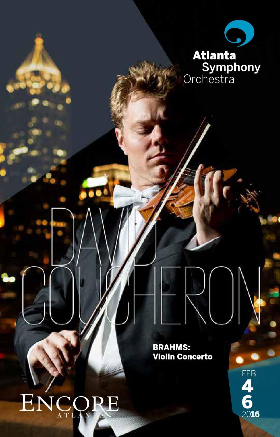 Atlanta Symphony Orchestra: February 2016 by Encore Atlanta