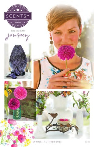 Scentsy Springsummer 2016 Catalog By Making Perfect Scents With Sam