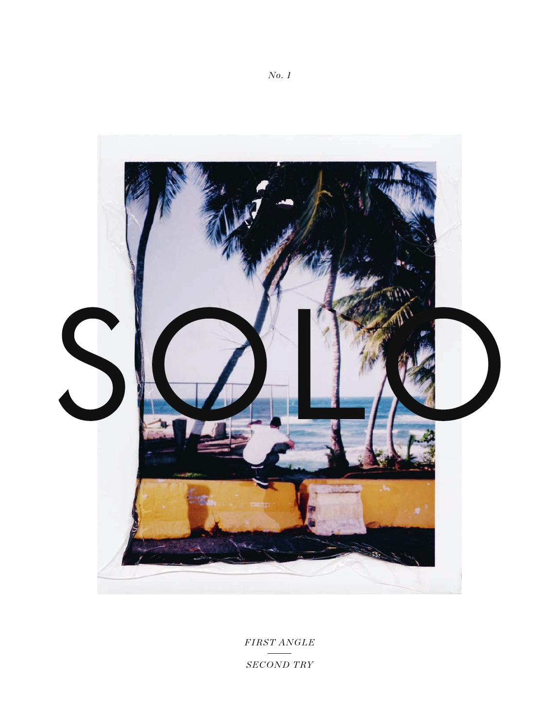 SOLO #1 by Solo Skateboard Magazine - issuu