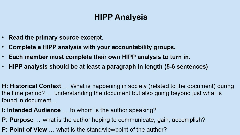 Hipp Analysis By Kevin Dawkins Issuu