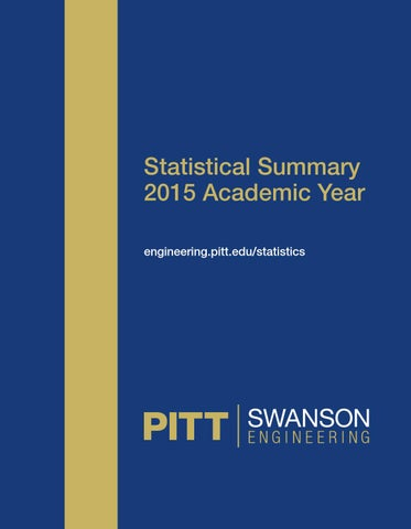 Swanson school of engineering 2015 statistical summary by pitt statistical summary 2015 academic year engineeringpittstatistics fandeluxe Gallery