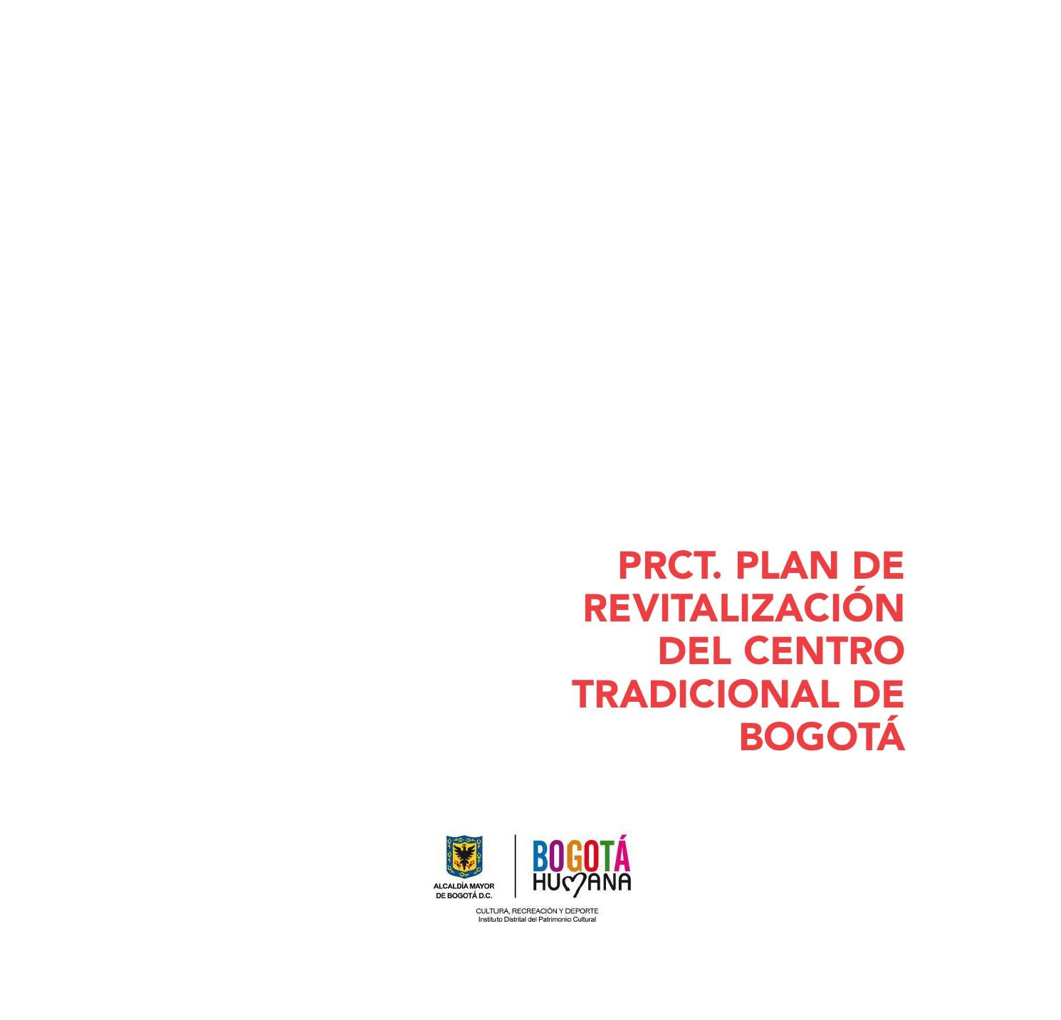 Plan de Revitalización del Centro Tradicional de Bogotá by Carmen Gª del  Salto Sánchez - issuu 060f1b46c62