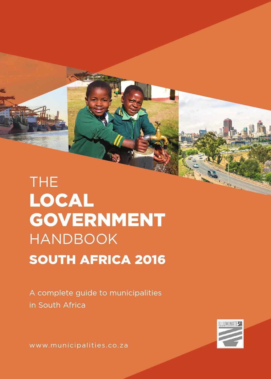Local Government Handbook - South Africa 2016 by Yes Media
