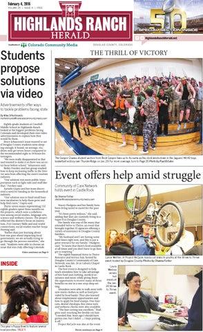 2679079c6 Highlands Ranch Herald 0204 by Colorado Community Media - issuu