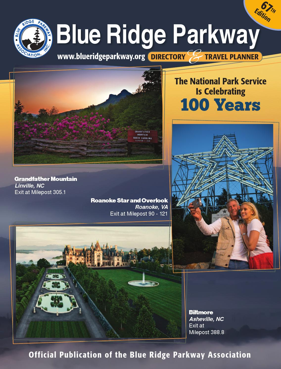 504637ae5a7 Blue Ridge Parkway Directory   Travel Planner - 67th Edition by Blue Ridge  Parkway Association - issuu