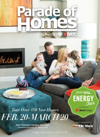 2016 Spring Parade of Homes Guidebook by BATC Housing First Minnsota
