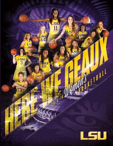 b4c3074466d 2015-16 LSU Women's Basketball Media Guide by LSU Athletics - issuu