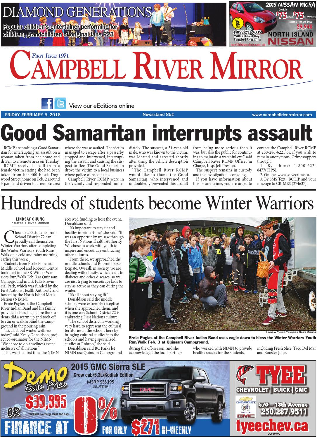 Campbell River Mirror, February 05, 2016 by Black Press - issuu 25f9d50e1d