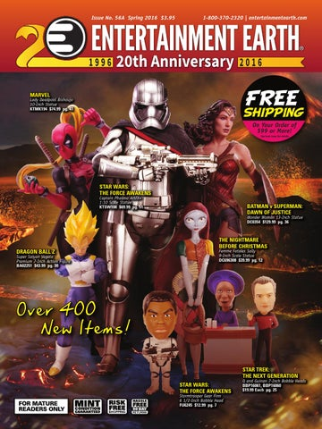 Entertainment Earth Spring 2016 Catalog by Entertainment