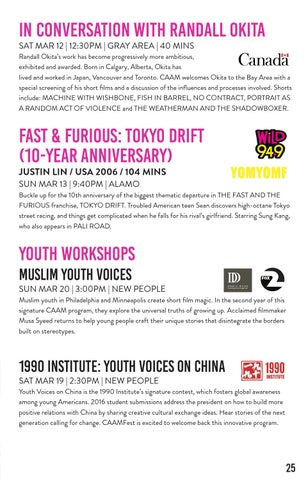 CAAMFest 2016 Program Guide by Center for Asian American