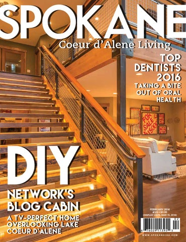 Spokane cda living february issue 123 by spokane magazine issuu top dentists 2016 taking a bite out of oral health fandeluxe Gallery