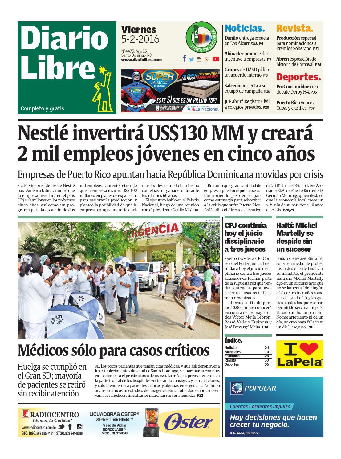 Diariolibre4475 by Grupo Diario Libre, S. A. - issuu