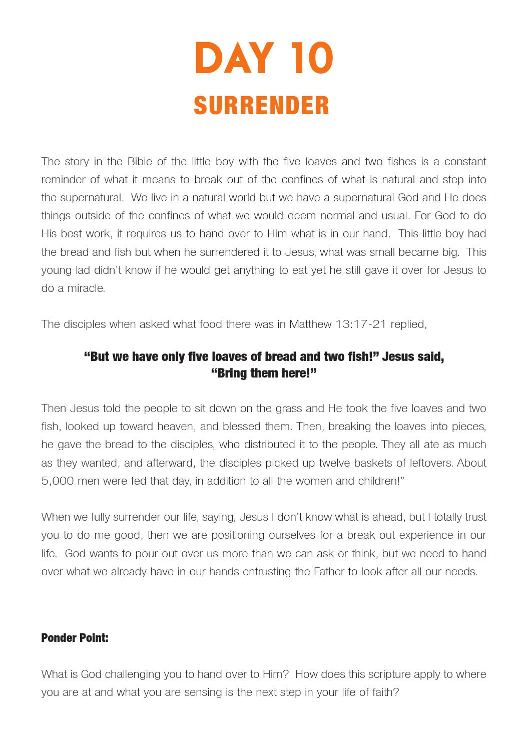 21 Days of Prayer and Fasting Guide by Encompass Church - issuu