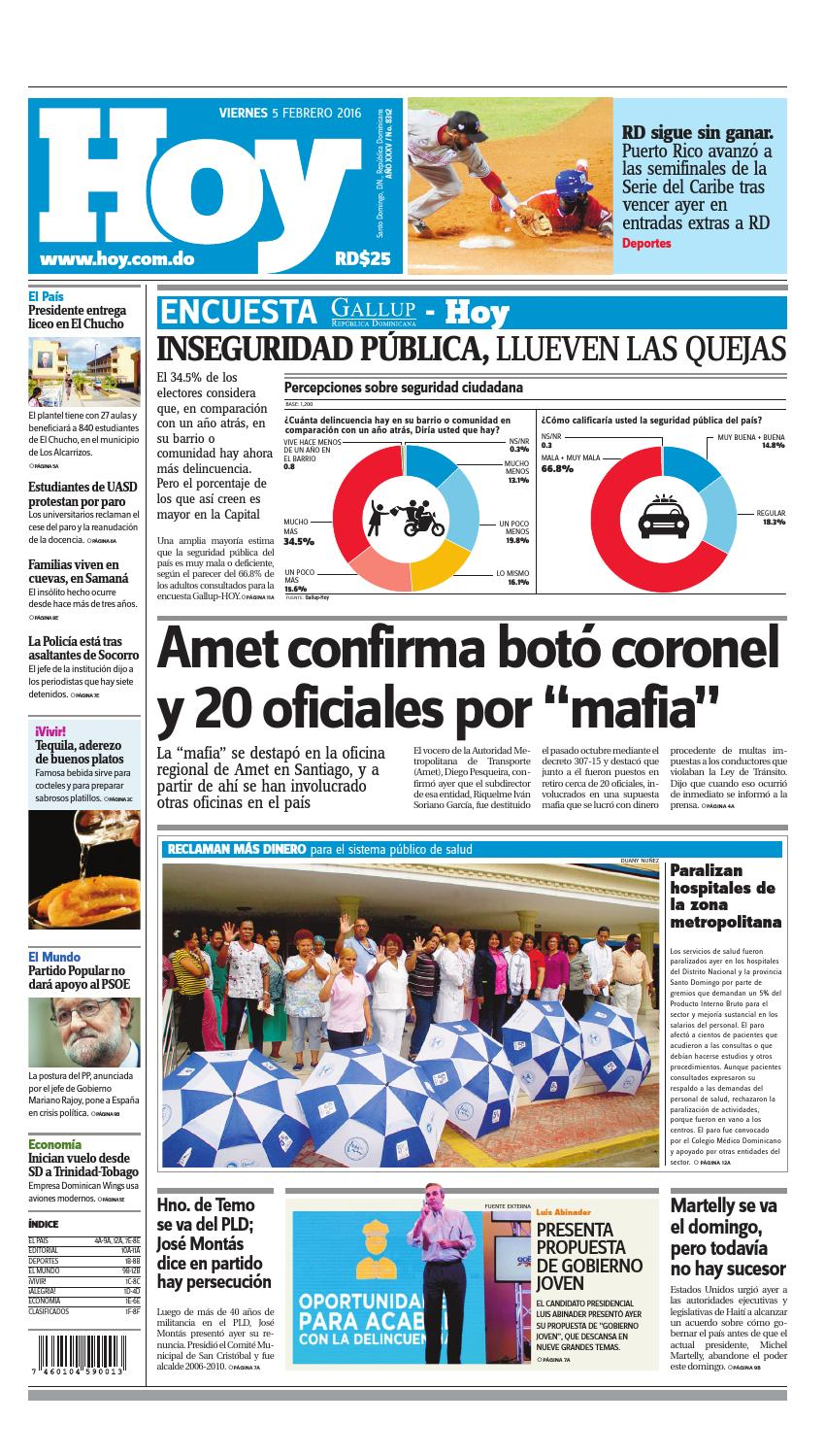 Periódico 05 de febrero,2016 by Periodico Hoy - issuu
