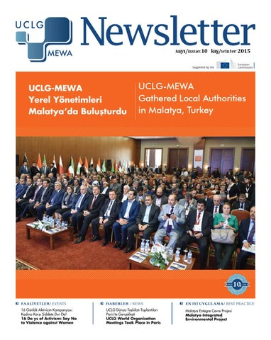 Uclg Mewa Newsletter 10 By Uclg Mewa Skonuk At Uclg Mewaorg