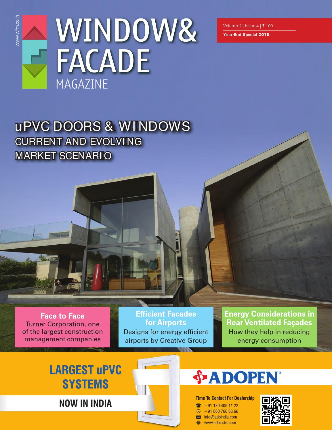Window U0026 Facade Magazine   Year End Special By F U0026 F Media And Publications    Issuu Awesome Design