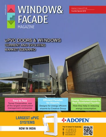 Window Amp Facade Magazine Year End Special By F Amp F Media