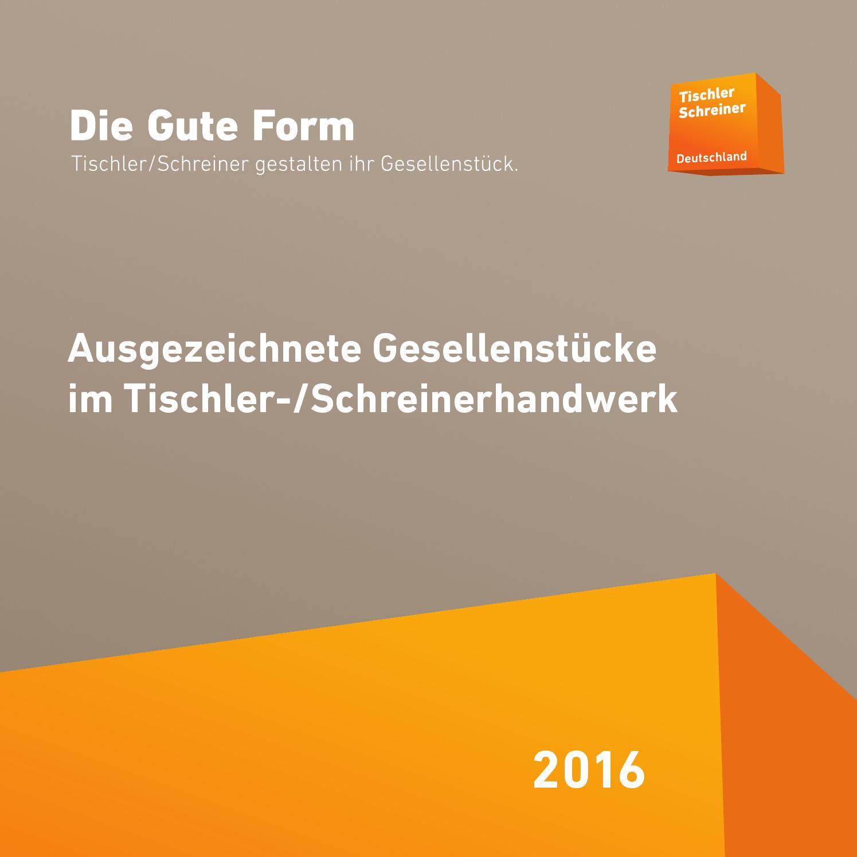 katalog die gute form 2016 by tischler schreiner deutschland issuu. Black Bedroom Furniture Sets. Home Design Ideas