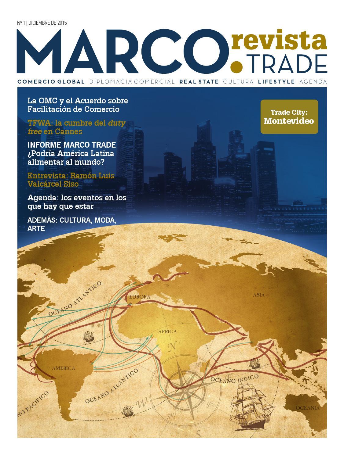 Marco Trade Revista N1 by María Cecilia Lozano - issuu