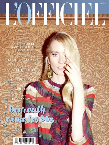 1c7e06835 L'Officiel-Levant, February Issue 62 by L'Officiel Levant - issuu