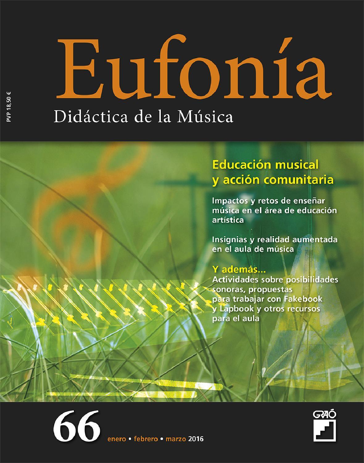 Eufonía 66 by Editorial Graó - issuu