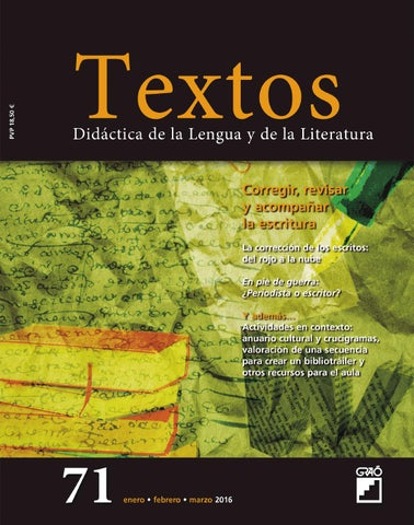 Textos 71 by editorial gra issuu page 1 fandeluxe Image collections