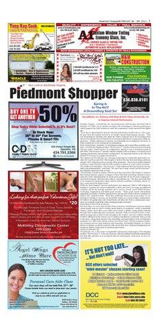 d3fc7748de Piedmont Shopper February 4-10, 2016 by piedmont shopper - issuu