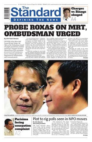 The Standard - 2015 December 17 - Thursday by Manila Standard - issuu