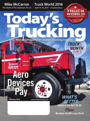 Today's Trucking February 2016 by Annex Business Media - issuu