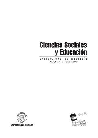 Ciencias Sociales Y Educación No 7 Df 3 De Febrero De 2016 By