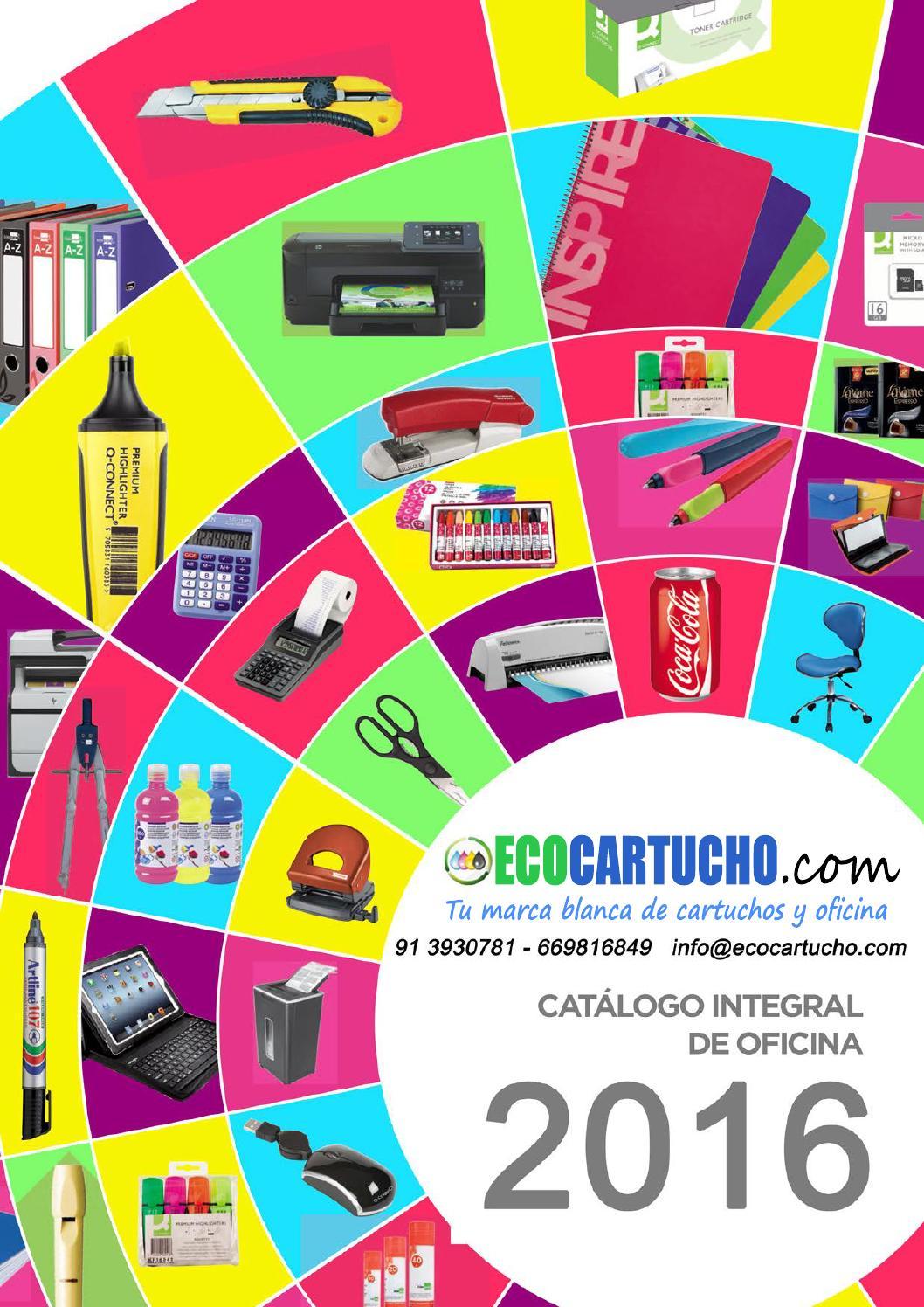 Catálogo Integral 2016 1ª Parte By Ecocartucho Com Issuu