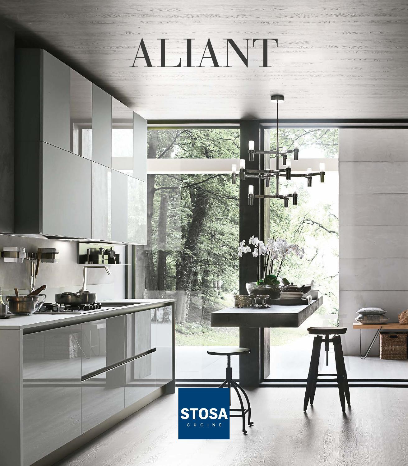 Catalogo cucine moderne stosa aliant by stosa cucine issuu - Catalogo stosa cucine ...
