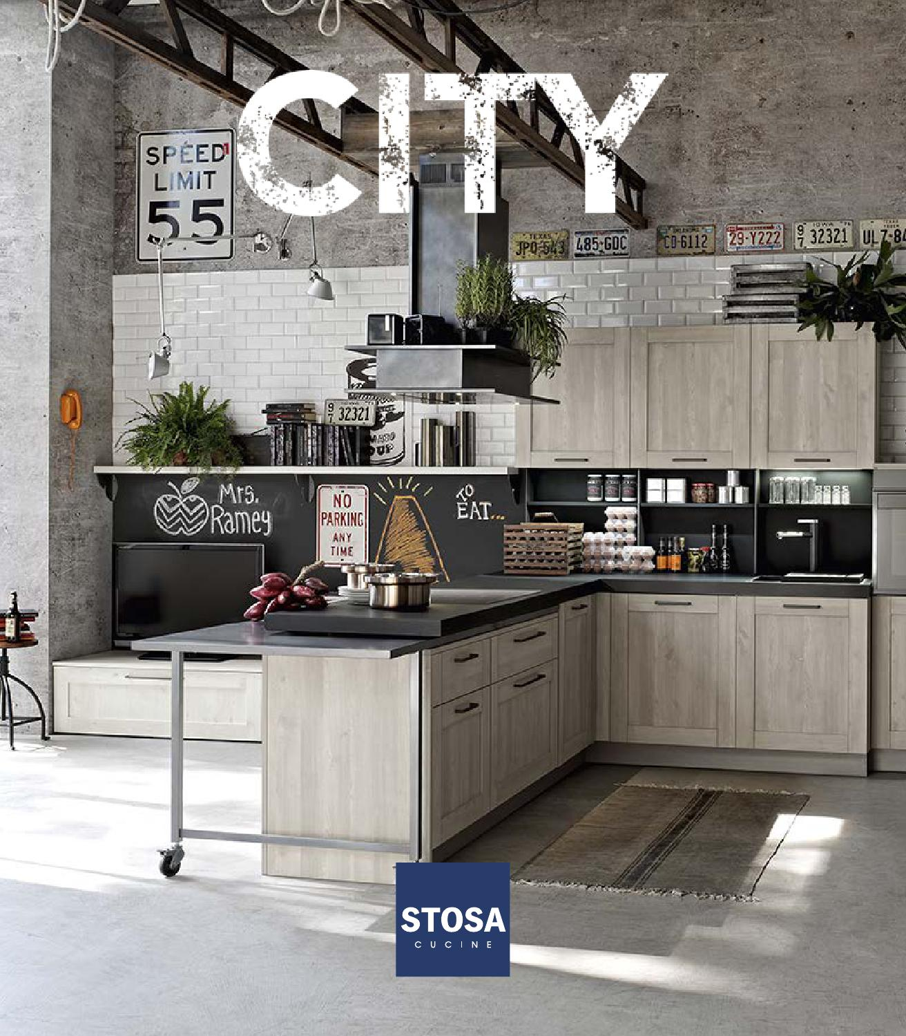 Catalogo cucine moderne stosa city by stosa cucine issuu for Cucine stosa catalogo
