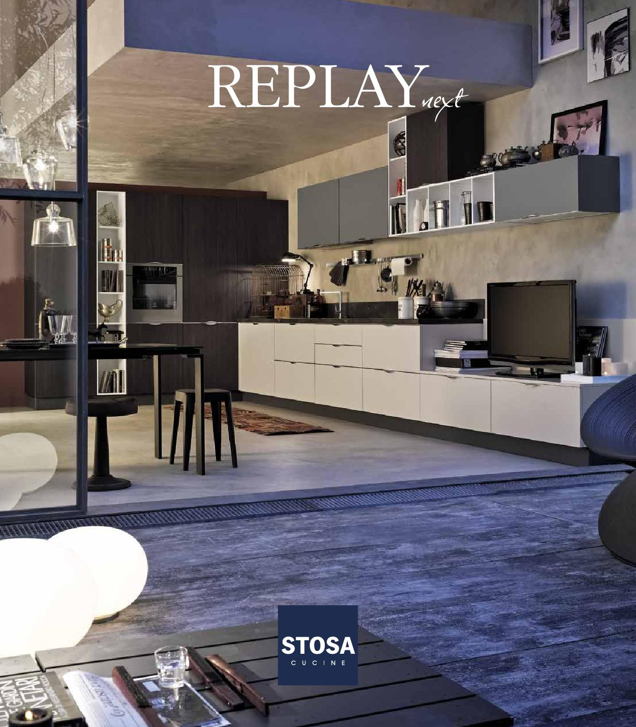 Catalogo cucine moderne stosa replay by stosa cucine issuu for Cucine stosa catalogo