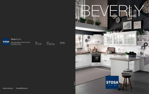 Catalogo cucine stosa beverly by stosa cucine issuu