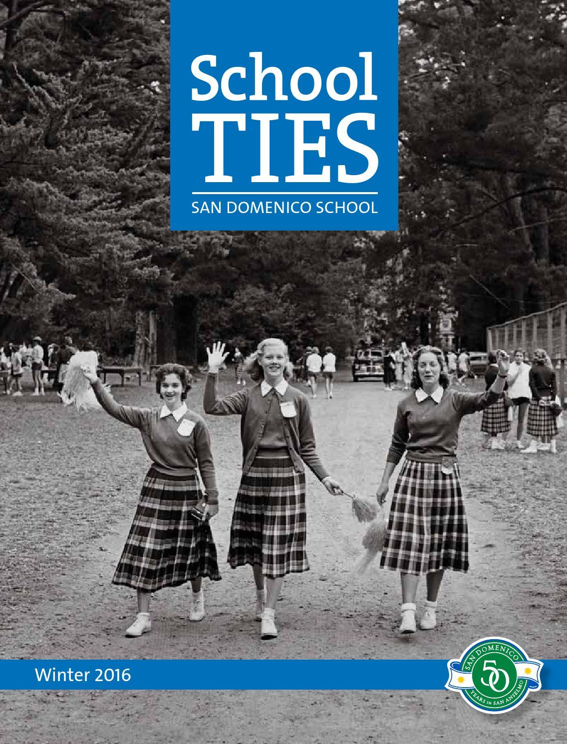 School Ties Winter 2016 By San Domenico