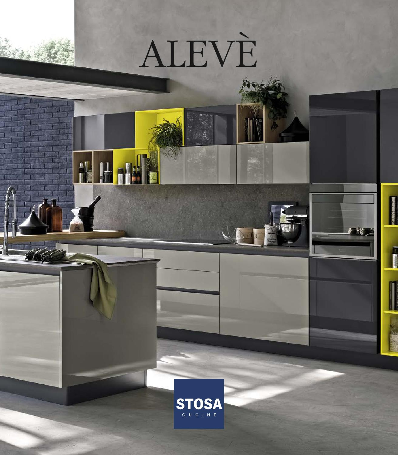 Catalogo cucine stosa moderne alev by stosa cucine issuu for Cucine catalogo