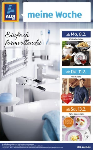 Aldi s d prospekt kw 06 by onlineprospekt issuu for Saldi mobili on line