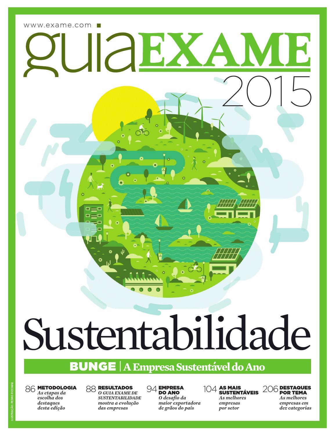 eca64ec34f6 Guia EXAME Sustentabilidade 2015 by Revista EXAME - issuu