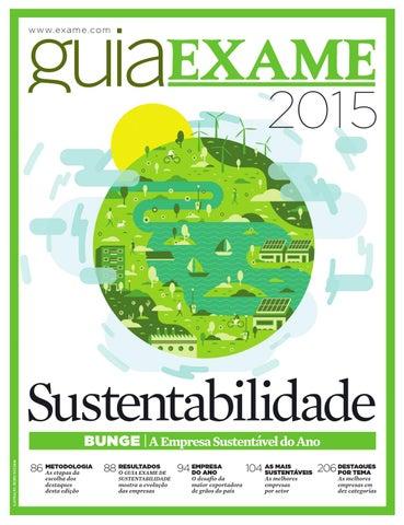 f45bf70b9f Guia EXAME Sustentabilidade 2015 by Revista EXAME - issuu