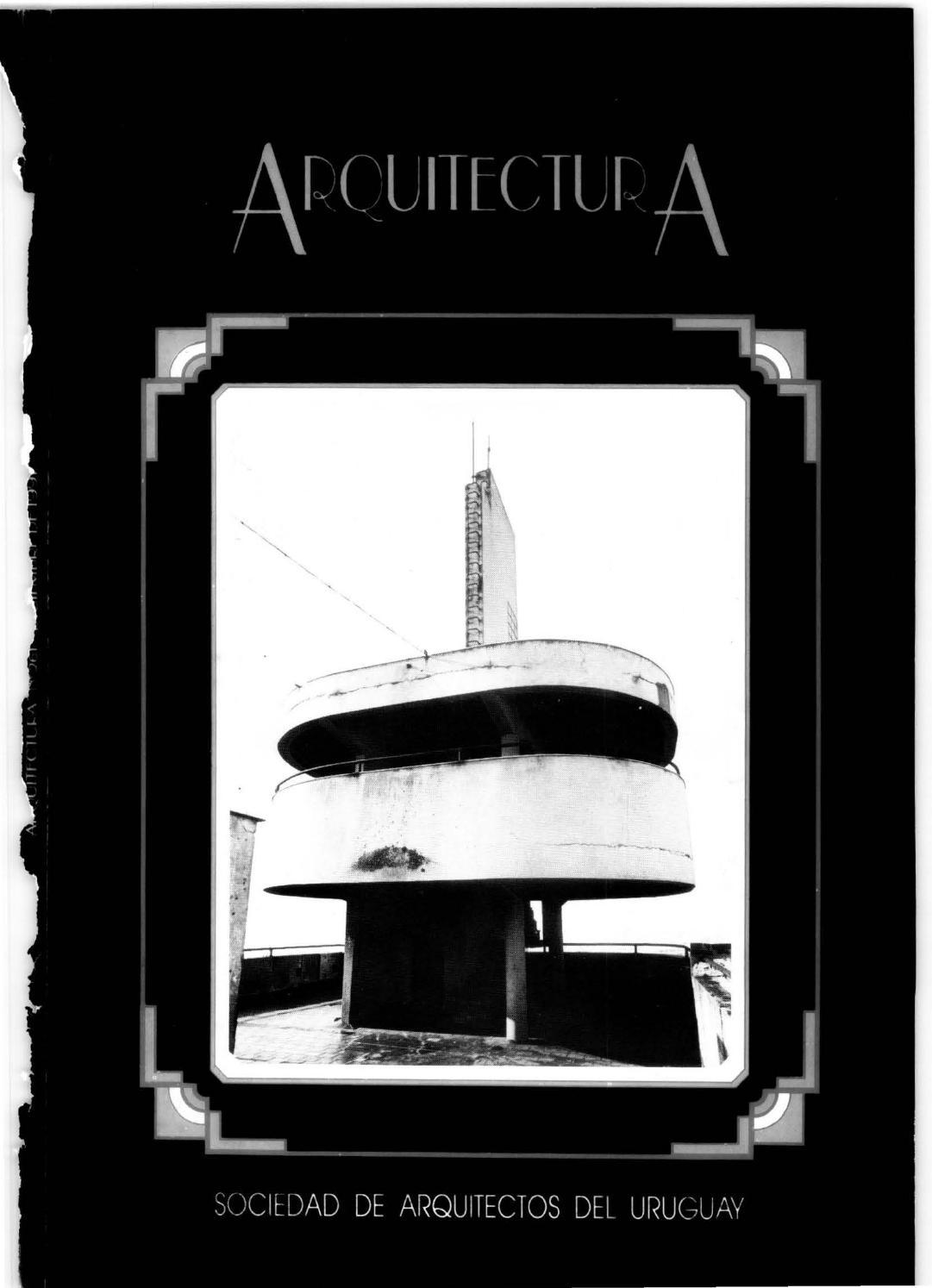 Arquitectura 261 1991 by sociedad de arquitectos del uruguay sau issuu - Sociedad de arquitectos ...