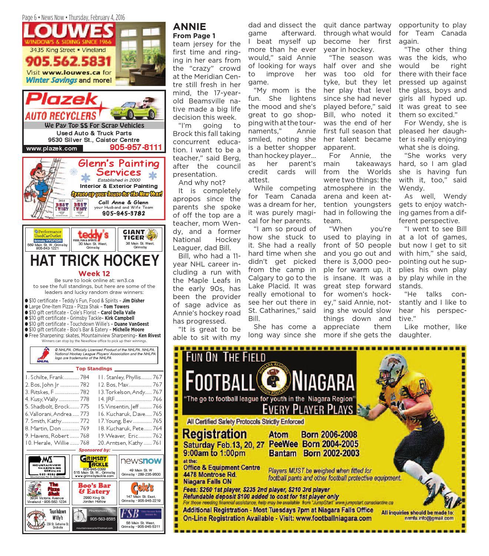Newsnow Niagara E Edition February 4 2016 By